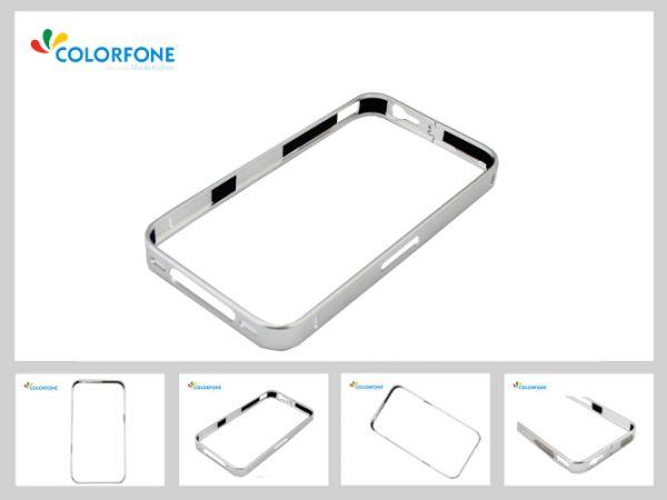 Metallstoßkasten<br> für iPhone 5/5 S<br>Silver