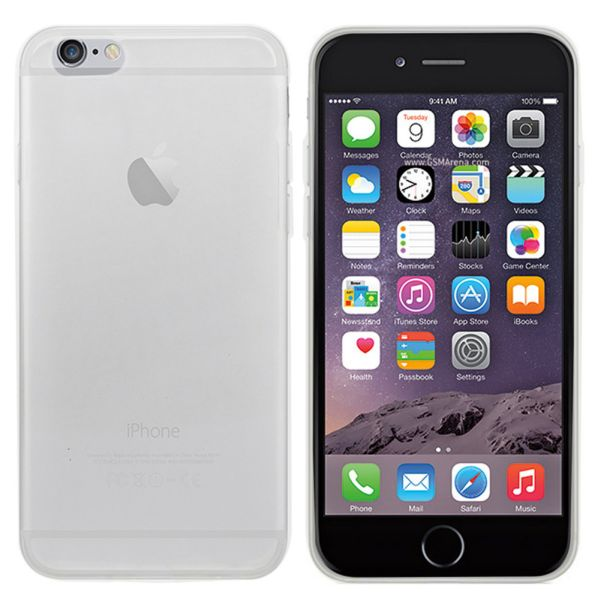CoolSkin3T Case<br> for Apple iPhone 6<br>Plus Tr. White