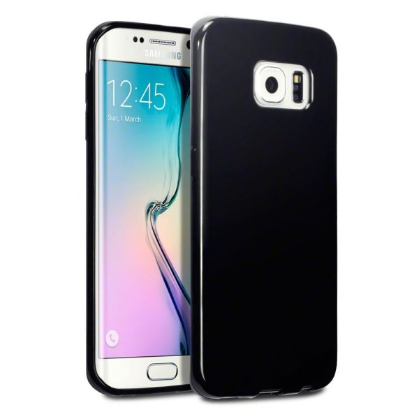 Groß Cool Skin<br> Tasche für Samsung<br>Galaxy S6 Schwar