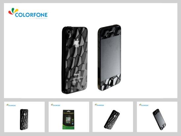 -3D<br> Displayschutzfolie<br> Apple iPhone 4, 4S ...