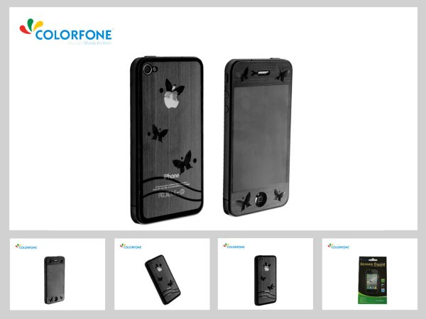 3D Butterfly<br> Screen Protector<br>iPhone 4/4S