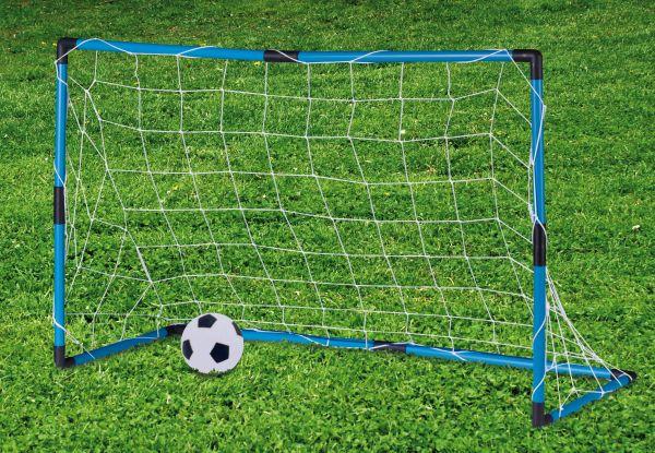 Fussballtor mit<br> Ball, 2tlg., 96x<br>42x64cm