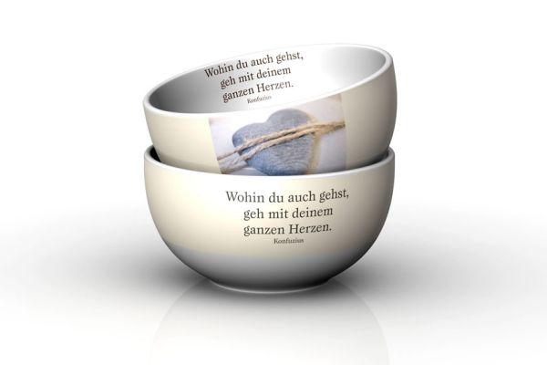 Schälchen  Herz <br>GK D13 H7cm