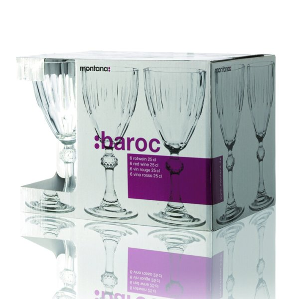 White Wine Glasses<br>in Box 6 21cl