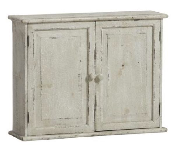 44x 56x 15cm wall<br>cabinet white wood