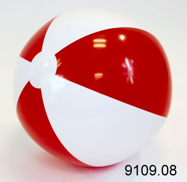 Water ball D37cm<br>red white