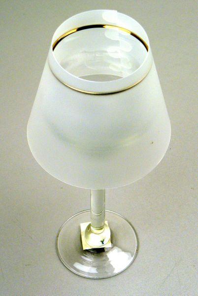Świece składany<br>parasol biały D6cm
