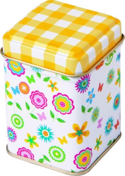 Teabox Candy<br>Flower 6.5x 4.5cm