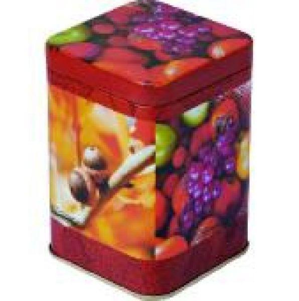 Tea caddy Autumn<br>Fruit H10,5 B7cm