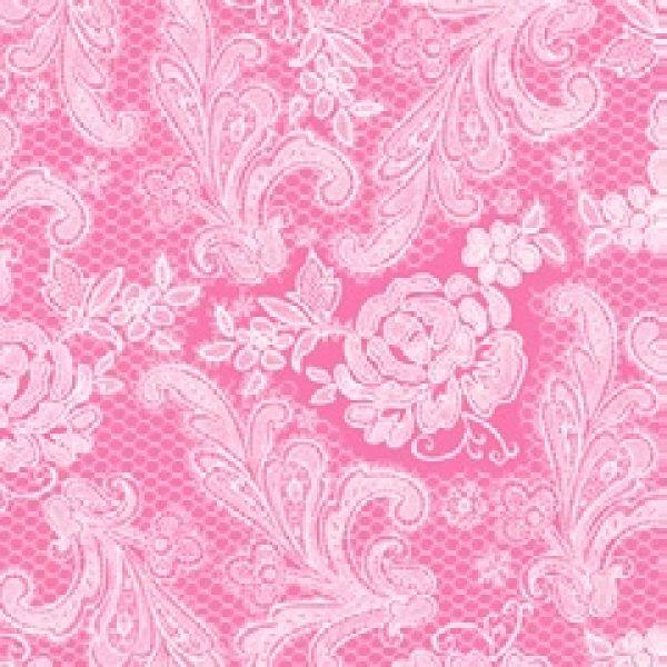 Serviette Royal<br>pink white 33x 33cm