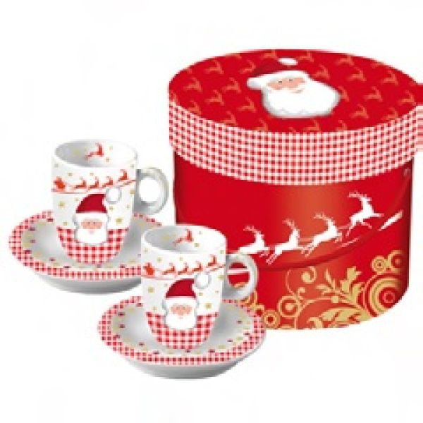 Espresso in<br> Santa&#39;s Sleigh<br>Box of 2