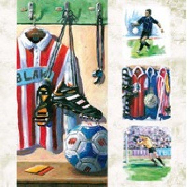 Serviette<br>Football  33x33
