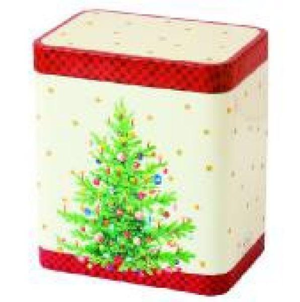 Coffee Box Trimmed<br>Tree 13x11,5x 8cm