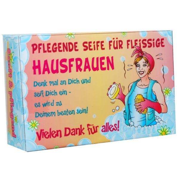 Seife ...fleißige<br>Hausfrauen...100gr.