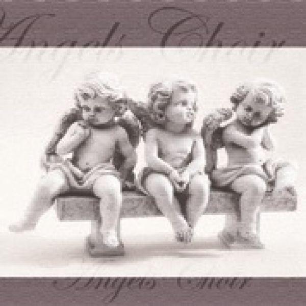 Serviette Angels<br> Choir FSC Mix<br>33x33cm