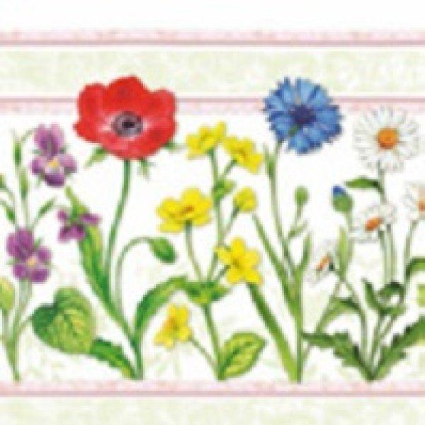Serviette Field<br>Flowers 25x 25cm