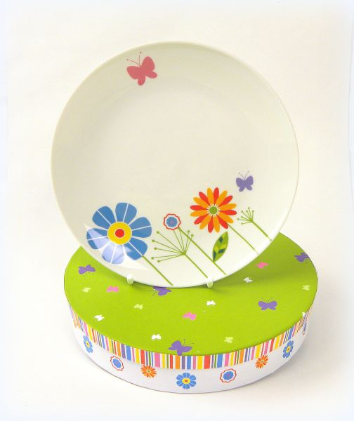 plate in Box Fun<br>Floral 2er