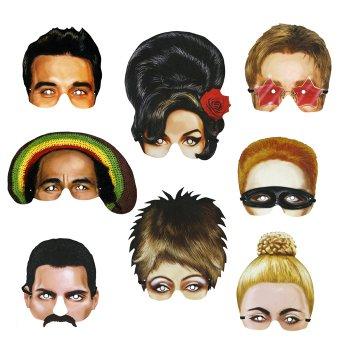 Nostalgiemasken<br>Music Icons