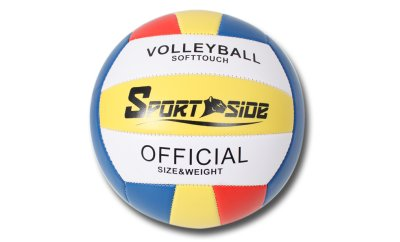 VOLLEYBALL BALL<br> DELUXE ORANGE /<br>BLUE / YELLOW / BL