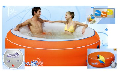 LAY-Z-SPA Jacuzzi Massage ORANGE-206 X 71