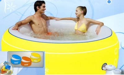 LAY-Z-SPA Jacuzzi Massage YELLOW-206 X 71