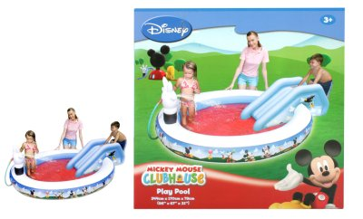BTE / POOL MICKEY - 1 244CMX170X79 Pudding mit T