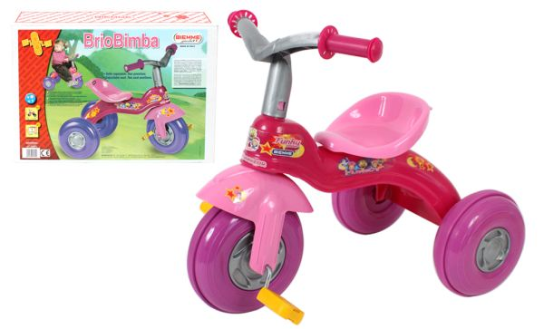 Box TRICYCLE BRIOBIMBA PINK / PURPLE 64X57X55