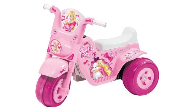 Box T MOTO 3 RAD LIGHT STAR BARBIE 6 VOLT