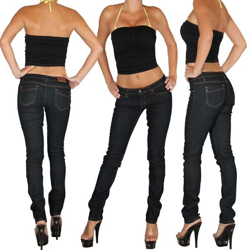 Jeans Women's skinny jeans pants hip Miss A.