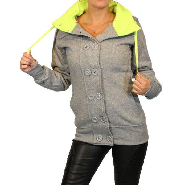 Kurtki damskie<br> bluzki Płaszcz<br>Pullover Sweat Blaze