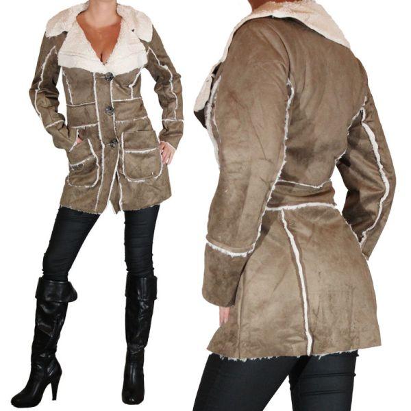 Panie wielkości<br> wieszak kurtka z<br>futra kurtka zimo