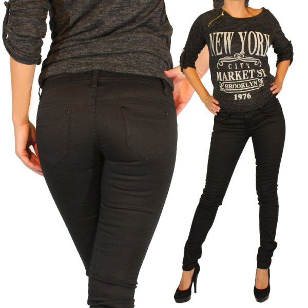 Jeans Women&#39;s<br> Pants Jeans Black<br>Skinny Jeans P