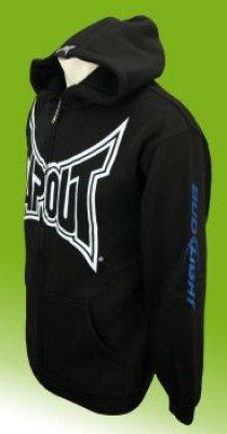Tapout hooded schwarzen Sweatshirt mit Kapuze