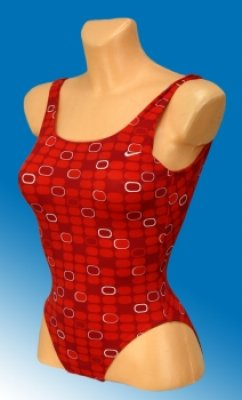 Youth Nike swimsuit red