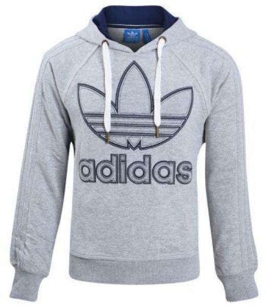 adidas gray hoodie for men