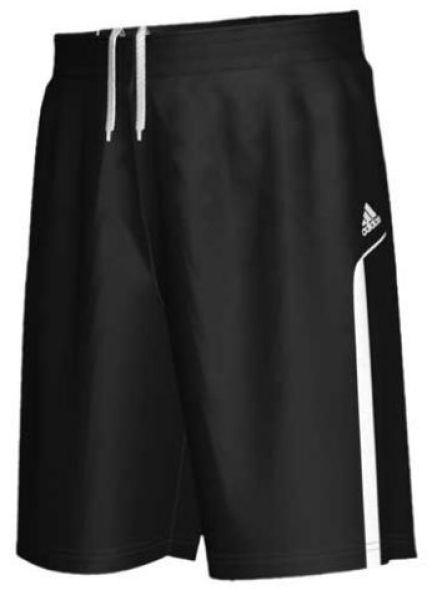 Masculine black<br>adidas shorts