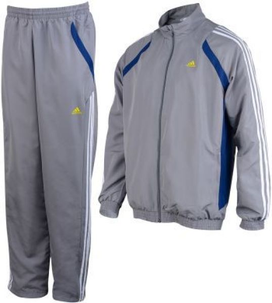 Adidas Trainingsanzug grau