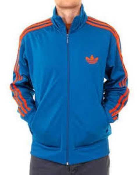 Men Adidas blue<br>with orange