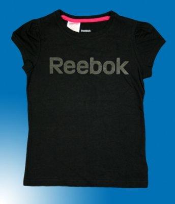 Koszulka dziecięca<br>REEBOK czarna