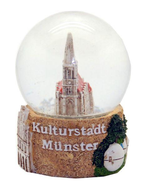 Souvenir Schneekugel Münster