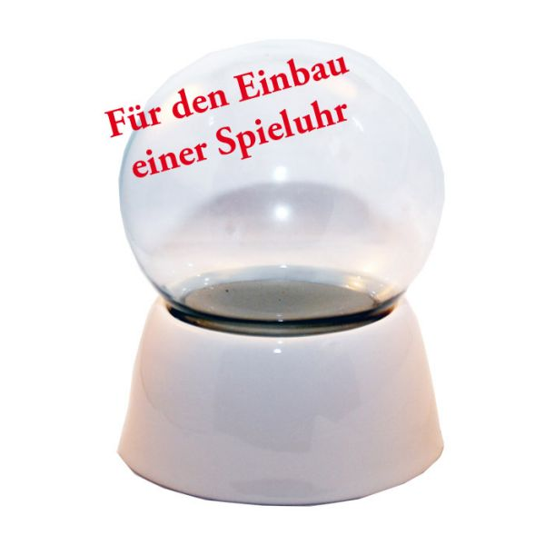 100mm-Do-it-Yourself Schneekugel für Spieluhr