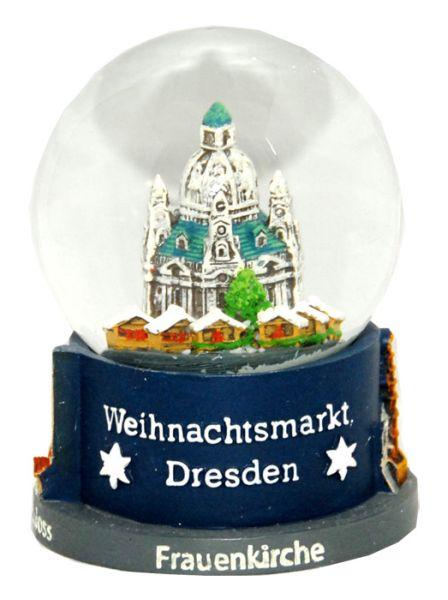 Souvenir Schneekugel Weihnachtsmarkt Dresden