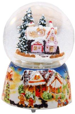 Schneekugel Zuckerbäcker - Snowmotion, H:140mm