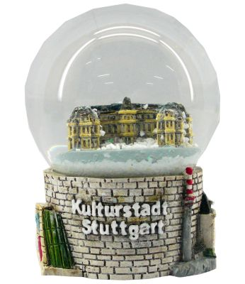 Souvenir Schneekugel Kulturstadt Stuttgart