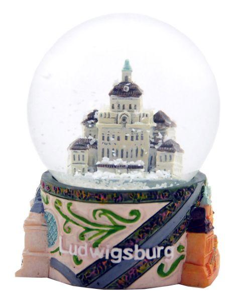 Souvenir Schneekugel Ludwigsburg