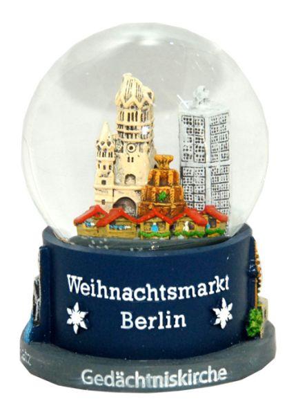 Souvenir Schneekugel Weihnachtsmarkt Berlin