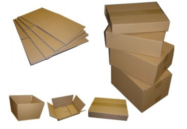 Shipping box 305 x<br>215 x 70-140 mm