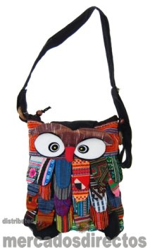 Shoulder bags shaped owl