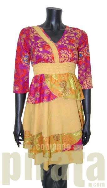Gedruckt<br> Sommerkleider.<br>Damenbekleidung.