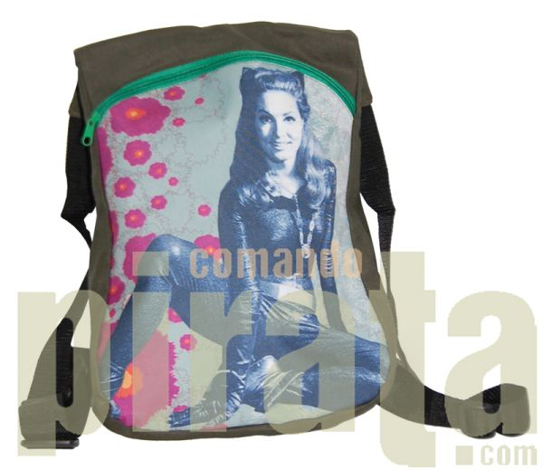 Lisa Backpack with<br>printed on the front
